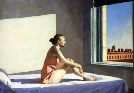 hopper woman sun