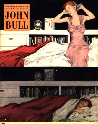 john-bull-sleep-sleeping-beds-bedrooms-alarm-clocks-new-years-resolutions-magazine-uk-1954-1