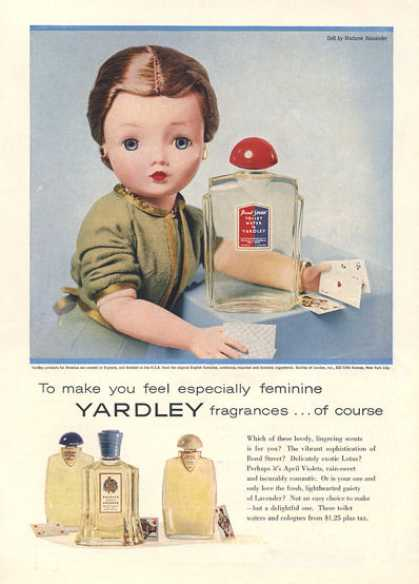 yardley 1957 vab