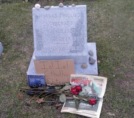 providence lovecraft grave