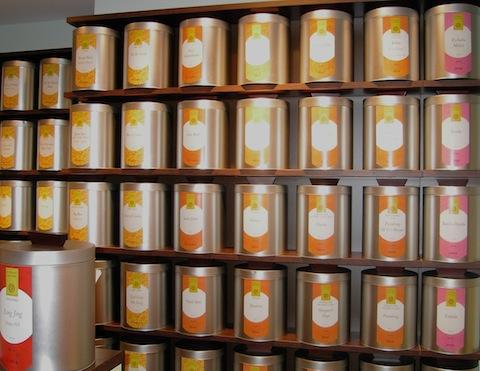 tea wall