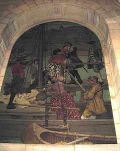 library melchers mural