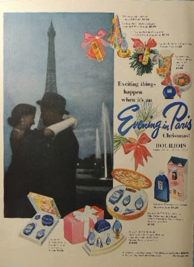 1952 evening in paris