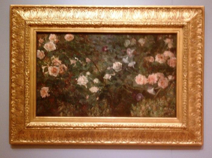 M O Dewing Rose Garden 1901 CB