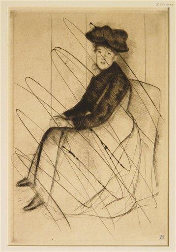 Mary Cassatt Printmaker