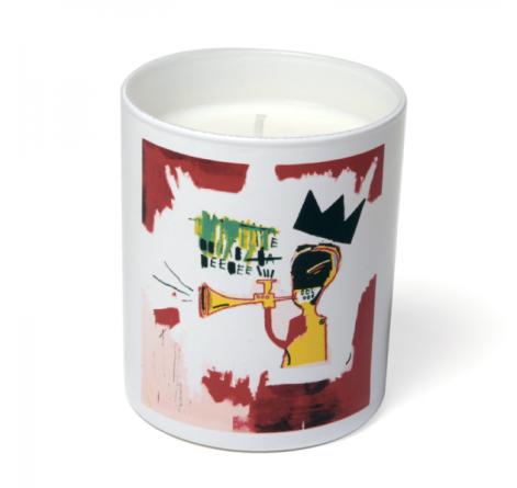basquiat candle