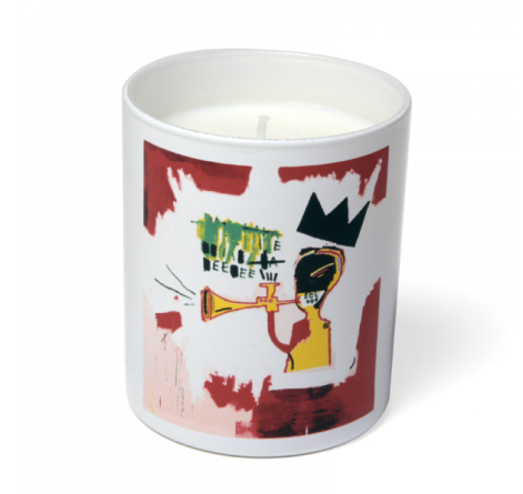 basquiat candle