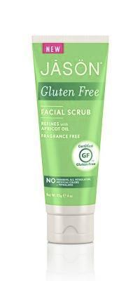 jason gluten free facial scrub