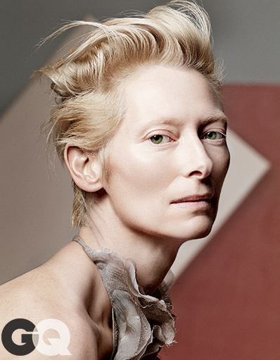 tilda swinton gq