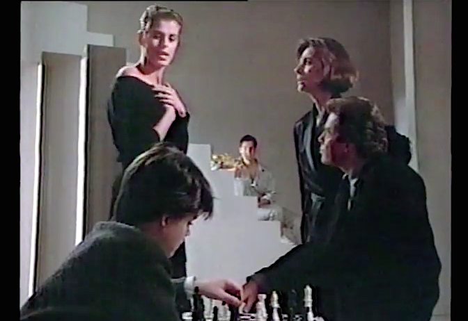calvin klein chess in ad