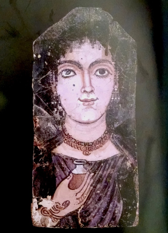 Portrait of a Woman. Er-Rubayat, ca. 100-120 A.D.