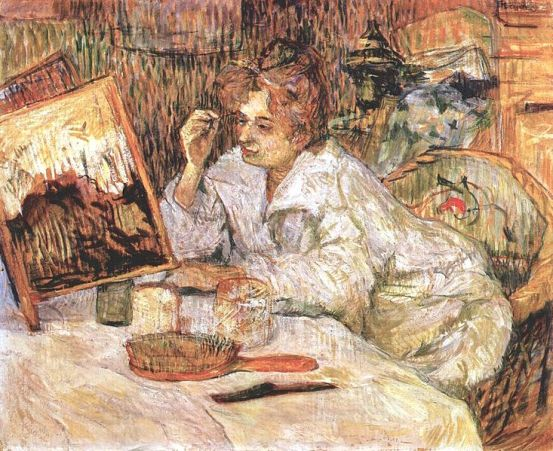 733px-Lautrec_woman_at_her_toilette_1889